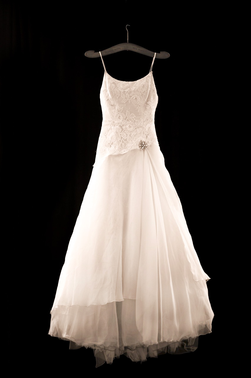 The hanger for the dress scott campbell photography for Bride wedding dress hanger